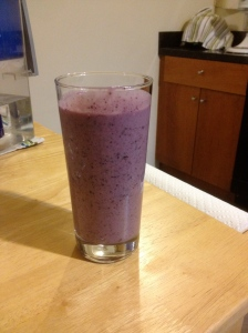 Mixed Berry Coconut Protein Smoothie