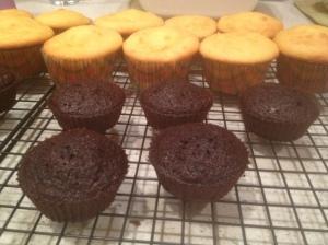 Gluten verses Gluten Free Cupcakes
