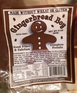 Sunflourbaking Gluten Free Gingerbread Boy